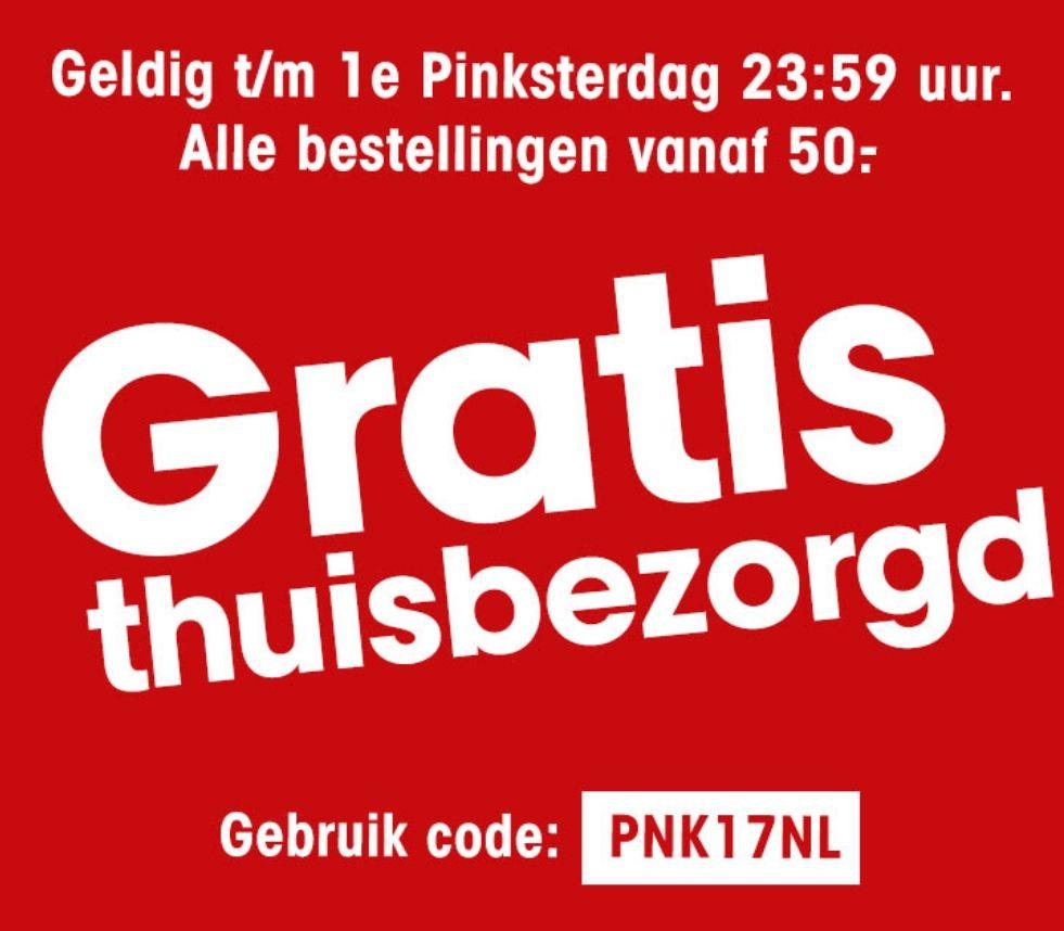 Alle bestellingen gratis bezorgd vanaf €50 @ Kwantum