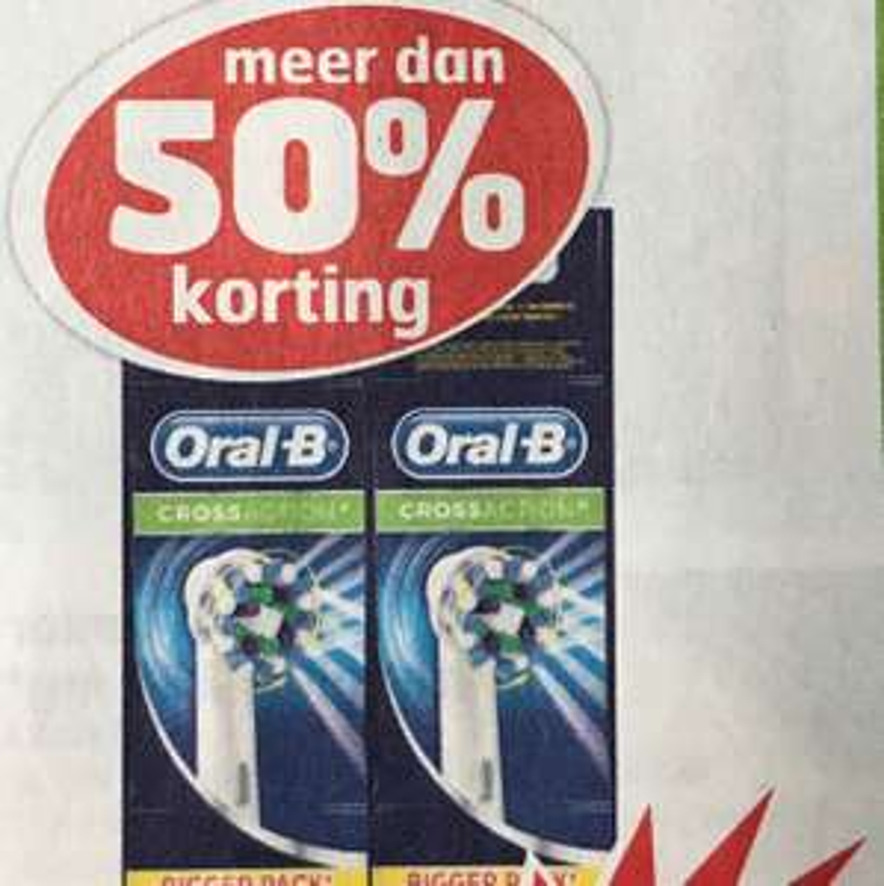 Oral B Precision Clean of Cross Action voor €29,99 @Trekpleister