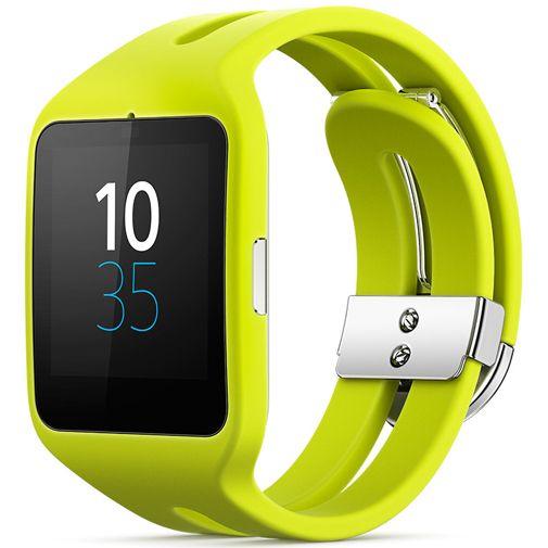 Sony SmartWatch 3 Yellow voor €89,95 @ Belsimpel
