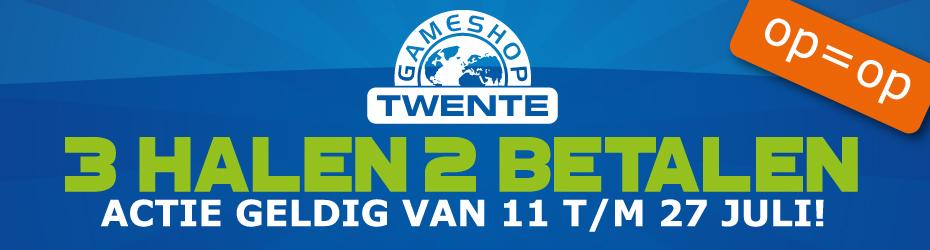 3 halen, 2 betalen op alle games @ Gameshop Twente