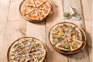 Alleen vandaag 2e pizza gratis bij afhalen @ Domino's
