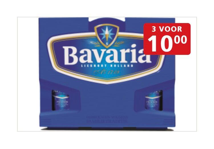 3 kratten Bavaria voor €10 @ jan Linders
