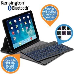 Kensington KeyFolio Exact™ Plus toestenbord voor iPad Air voor € 35,90 @ iBOOD