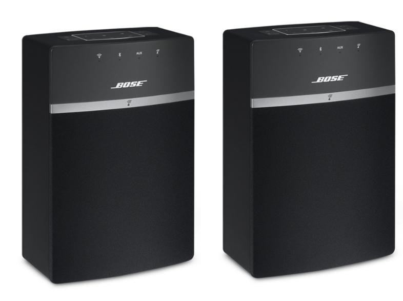 Bose SoundTouch 10 Duo Pack voor €349 @ Media Markt