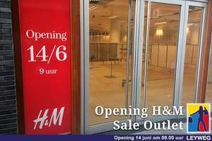 14-06 sale Outlet H&M Den Haag