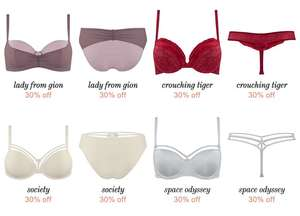 SALE 30-50% korting @ Marlies Dekkers