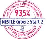 Gratis Pakket met 4 Proefverpakkingen Nestlé Groeie Start 2 opvolgmelk + Blauwe knuffel Beertje Bo @ Nestlé