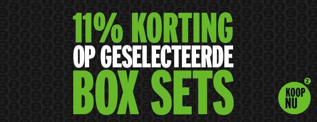 11% korting op boxsets @ Zavvi