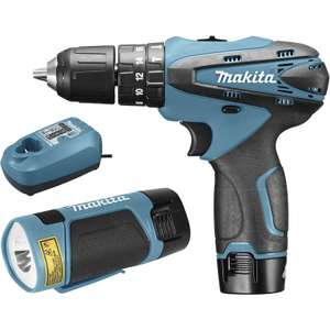 Makita HP330DWLE accu klopboormachine voor €98,02 @ ToolStation