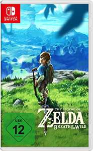 The Legend of Zelda: Breath of the Wild (Switch) voor €48 (€38 met code) @ Amazon.de