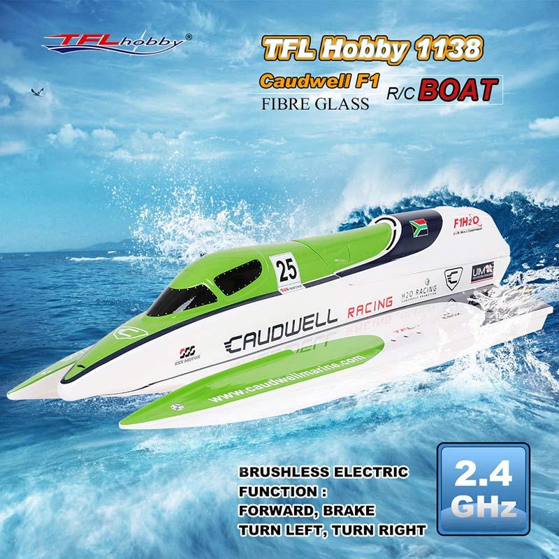 Diverse TFL Hobby en Feilun RC speedboot aanbiedingen bij Tomtop