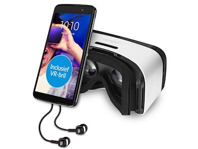 Alcatel Idol 4 + VR Bril - 16 GB - Dual SIM - Grijs @ Paradigit.nl