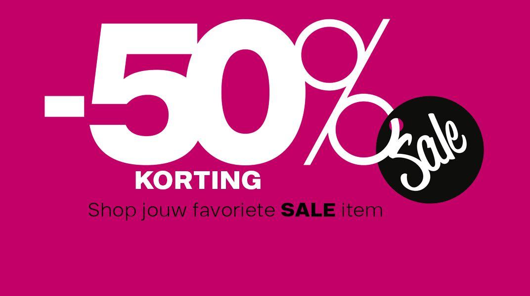 50% korting op de sale (Fila sneaker met veter voor €12,45) @ Vanharen