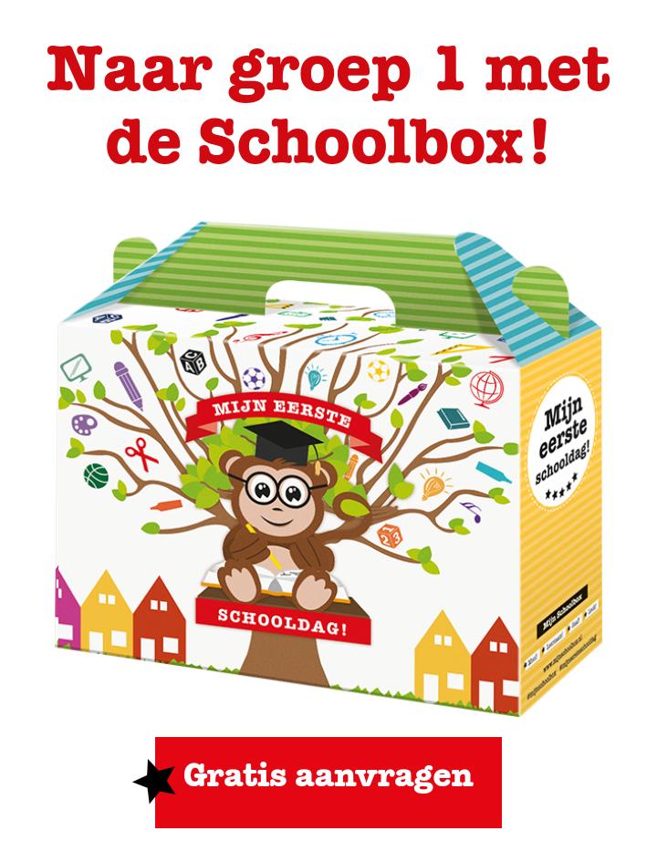 Gratis schoolbox voor kinderen in groep 1 @top1toys