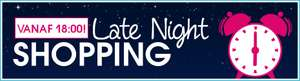 Late night shopping tot 10% korting @ Pinkorblue