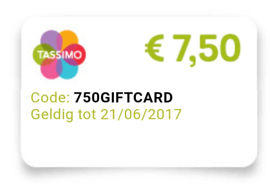 €7,50 korting vanaf €27,50 op het drankenassortiment  @ Tassimo