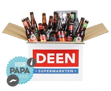 17 speciaalbieren + glas voor 20 euro