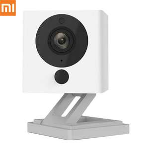 Original Xiaomi Xiaofang Smart 1080P WiFi IP Camera 1/2.7 inch CMOS Sensor 110 Degree FOV 8X Digital Zoom - White @ Geekbuying