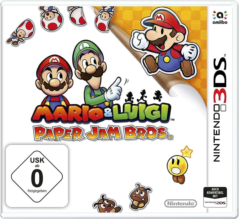 Mario & Luigi: Paper Jam Bros (3DS) voor €17,56 @ Amazon.de