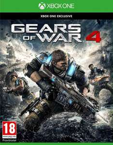 Gears of War 4 (Xbox One Disc) voor €14 @ MS Italië