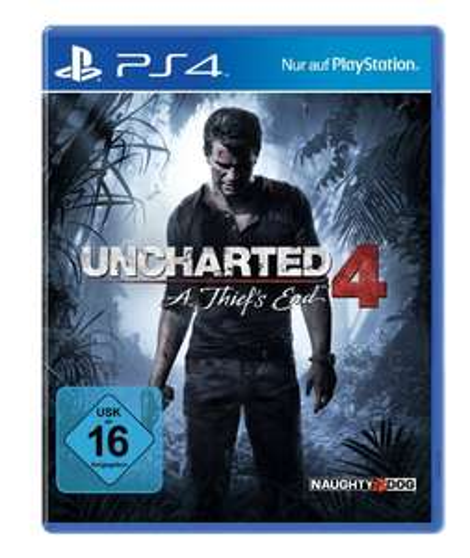 Uncharted 4: A Thief's End (PS4) voor €19,99 @ Amazon.de