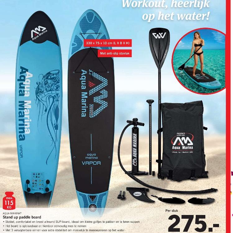 Aqua marina vapor sup. Online deal only @ Lidl