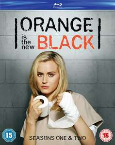 Orange is the New Black - Seizoen 1 & 2 Blu-ray voor €9,36 @ Zavvi