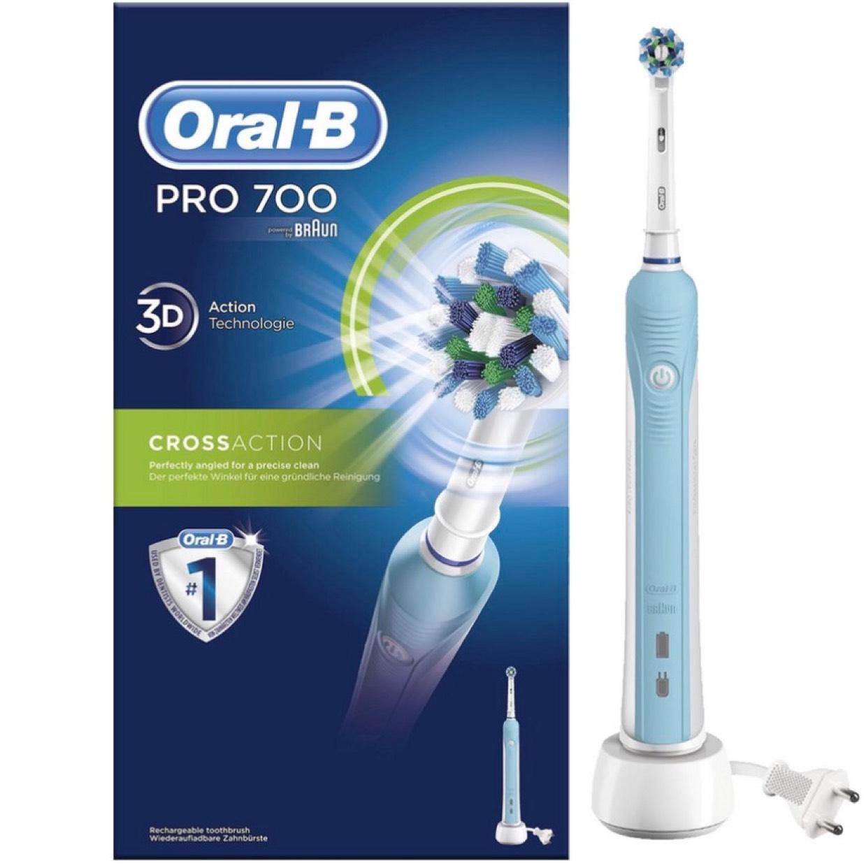 2x Oral-B Pro 700 CrossAction @ iBood