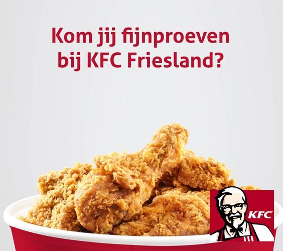 10% korting vouchers op alles @ HLT/KFC Leeuwarden