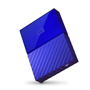 WD My Passport 4TB Blauw @ Amazon.es