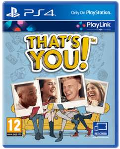 That's You PS4 extra gratis PS+ game in juli @ PSN