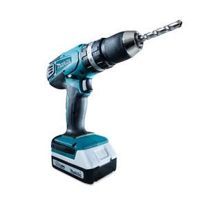Makita 18V Accu Klopboor Set HP457DWE10 @Aldi