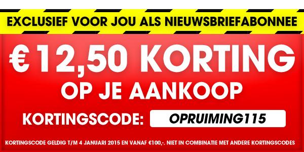 €12,50 kortingcode @ bobshop.nl