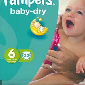 Pampers baby dry korting