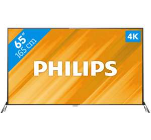 Philips 65PUS6121 4K Smart TV voor €899 @ Coolblue/PlatteTV
