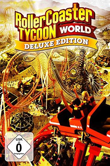 Rollercoaster Tycoon World Deluxe Editie voor 1,64 @ amazon.de