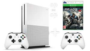 Xbox One S 1TB + Gears of War 4 + Extra Controller voor €229 @ Game Mania