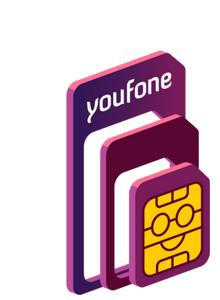 Alle sim-only (ook maandelijkse) 1e maand gratis en geen aansluitkosten @Youfone