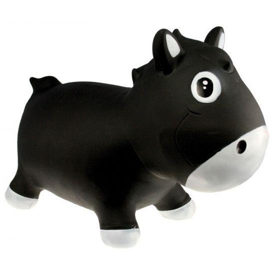 Kidzzfarm Harry The Horse Zwart Skippypaard €5 @ MamaloesBabySjop