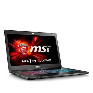[PRIJSFOUT?] MSI GS72 6QC-052 Full HD 17,3 inch gaming laptop + Gratis gamebundel voor €699 door code @ Wehkamp