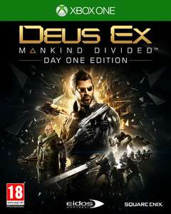 Deus Ex: Mankind Divided (Day One) XBOX ONE @Game Mania