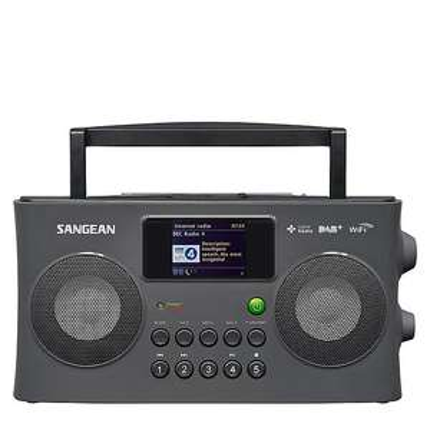 Sangean WFR-29 C draagbare DAB+ radio voor €199 @ Wehkamp