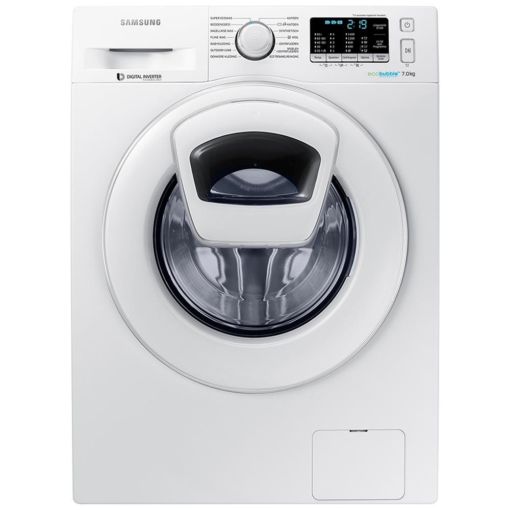 Samsung AddWash wasmachine WW70K5400WW/EN voor 399 euro @ BCC en MM