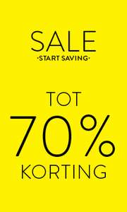 Nu tot 70% korting @ Men at work.