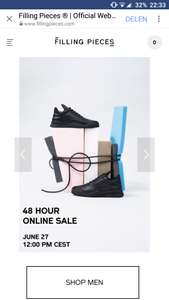 48 uur Spring summer sale @ Filling Pieces
