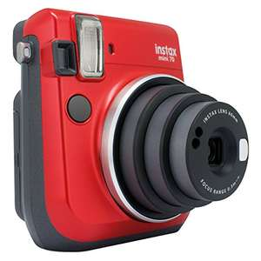 Fujifilm Instax mini 70 Rood instant print camera voor 67,11 @ Amazon.de (alleen Prime)