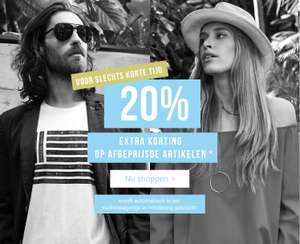 SALE + 20% extra korting @ Tom Tailor