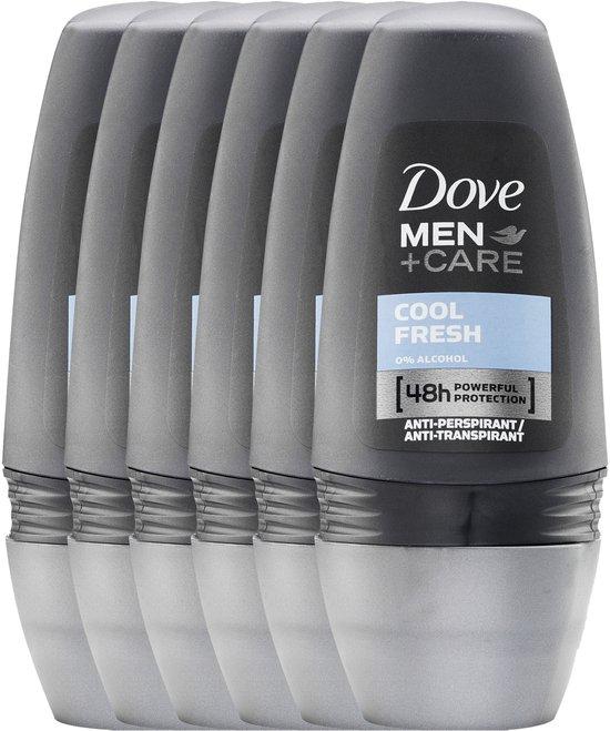 Dove Men+Care Cool Fresh - 6 x 50 ml - Deodorant Roller @ Bol.com
