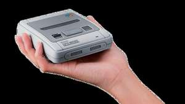 Nintendo console Classic Mini Super Nes @ DreamLand, Colruyt, OKay België