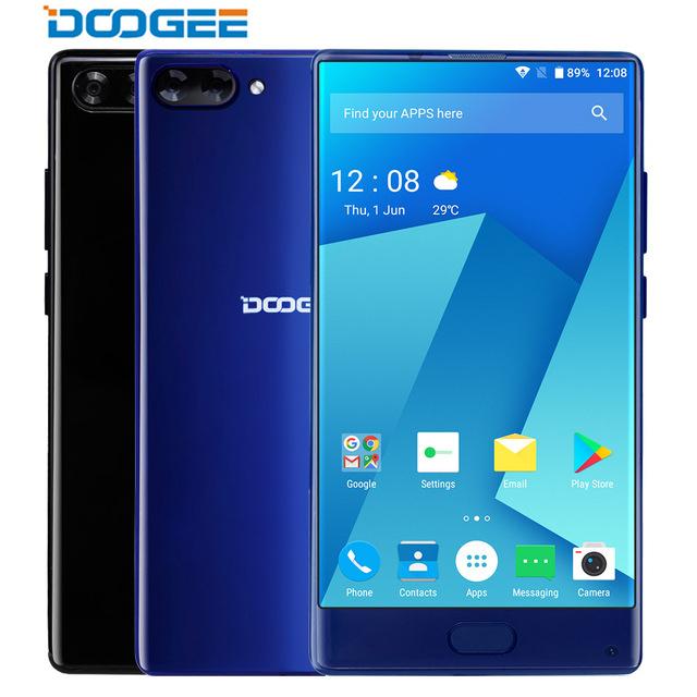 """Voorverkoop: DOOGEE MIX bezel-less Dual Cameras 5.5"""" MTK Helio P25 Octa Core 6GB+64GB Android 7.0 @ Aliexpress.com"""